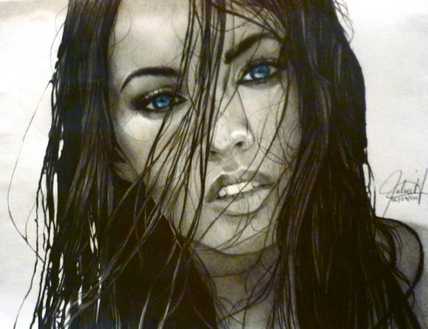 Megan Fox par ScorpionDraws